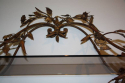 An Italian Florentine metal wall shelf - picture 4
