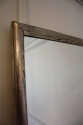 Long, tall, silver leaf French bistro mirror, c1900 - picture 5