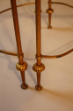 French 1950`s three section occasioal table - picture 2