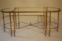French 1950`s three section occasioal table - picture 3