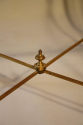 French 1950`s three section occasioal table - picture 4