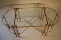 French 1950`s three section occasioal table - picture 5