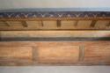 C19th Antique Oak long storage bench - picture 3