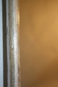 A large narrow framed silver bistro mirror - picture 4