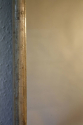 A large narrow framed silver bistro mirror - picture 5