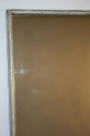 A large narrow framed silver bistro mirror - picture 8