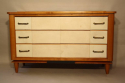 Parchment chest of drawers, c1950 - picture 2