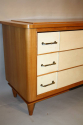 Parchment chest of drawers, c1950 - picture 4