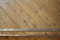 Long rectangular glass, lucite and silver metal 1970`s coffee table - picture 3