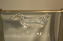 Glass sausage dog bowl - picture 2