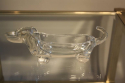 Glass sausage dog bowl - picture 4