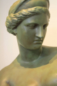 20thC green painted plaster bust of Aphrodite - Venus de Milo - picture 2