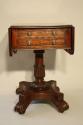 William IV mahogany work box table, c1837 - picture 2