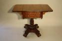 William IV mahogany work box table, c1837 - picture 4