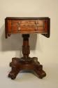 William IV mahogany work box table, c1837 - picture 5