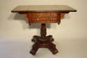 William IV mahogany work box table, c1837 - picture 6