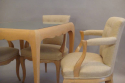 Rene Prou sycamore table and chairs, France c1935 - picture 2