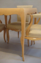 Rene Prou sycamore table and chairs, France c1935 - picture 9