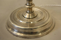 Tall silver Spanish table lamp - picture 5