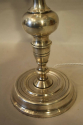 Tall silver Spanish table lamp - picture 6