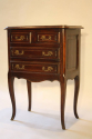 Louis XVI style four drawer oak side cabinet - picture 3