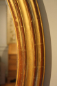 French C19th antique oval mirror - picture 2