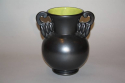 French black glazed vase by B Letalle, c1940 - picture 2