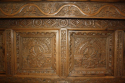 Antique Oak court cupboard, beautifully carved 18thC example - picture 1