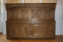 Antique Oak court cupboard, beautifully carved 18thC example - picture 2
