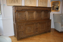Antique Oak court cupboard, beautifully carved 18thC example - picture 4