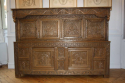 Antique Oak court cupboard, beautifully carved 18thC example - picture 5