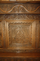 Antique Oak court cupboard, beautifully carved 18thC example - picture 7