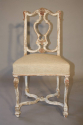 Italian gesso chair with carved masked detail. - picture 2