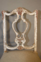 Italian gesso chair with carved masked detail. - picture 3
