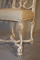 Italian gesso chair with carved masked detail. - picture 6