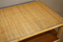 Pair of bamboo and rattan consoles - picture 5