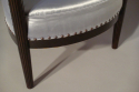 A pair of reeded leg Art Deco tub chairs, French c1930 - picture 5
