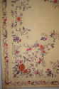 A lovely pair of embroidered silk panels, c19 - picture 2