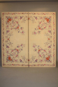 A lovely pair of embroidered silk panels, c19 - picture 3