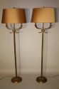 A pair of Dolphin head floor lamps - picture 1