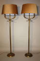 A pair of Dolphin head floor lamps - picture 10