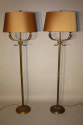 A pair of Dolphin head floor lamps - picture 2