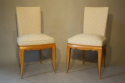 A pair of Rene Prou chairs, c1935 - picture 2