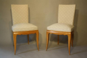 A pair of Rene Prou chairs, c1935 - picture 3