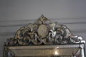 Antique Venetian mirror with pierced cartouche, C19th - picture 3