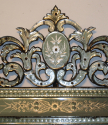 Antique Venetian mirror with pierced cartouche, C19th - picture 7