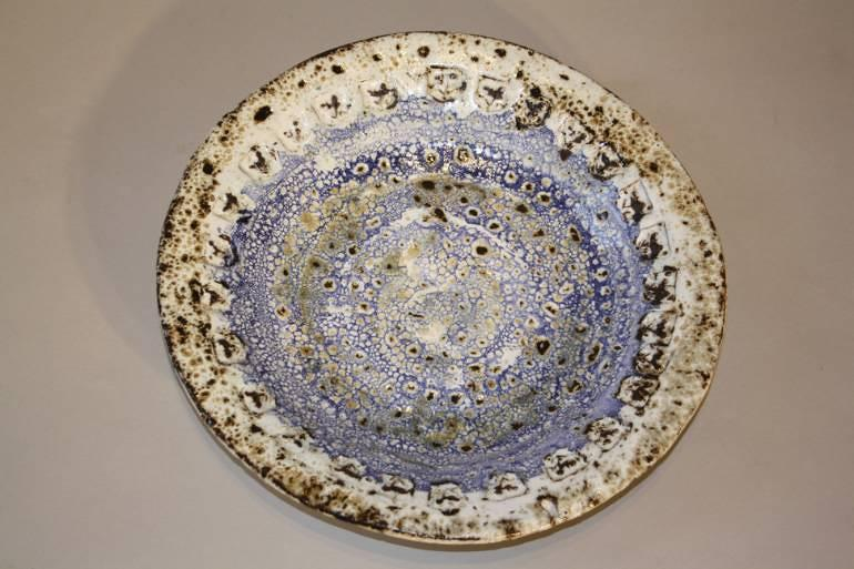 French Vallauris plate, c1950