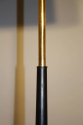 Black and gold metal floor lamp, c1950 French - picture 3