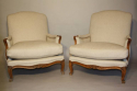 A pair of French Walnut armchairs - picture 2