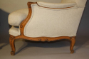 A pair of French Walnut armchairs - picture 3